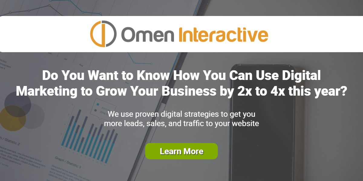 Get More Traffic, Leads, and Sales with Omen Interactive